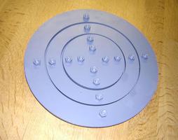 Belüftungsboden zum Einbau Druckgefäßförderer
