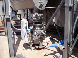 Mini-Druckgefäßförderer für Filterstaub